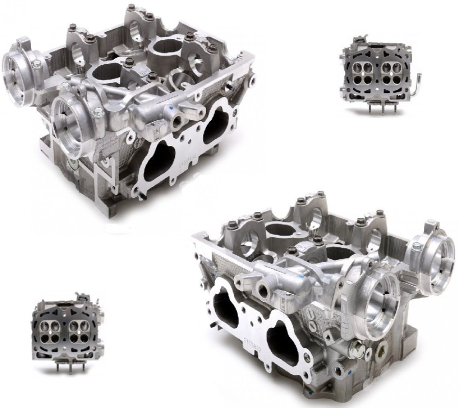 Genuine Subaru New Large Port Cylinder Heads Impreza Spec C JDM STi AVCS  EJ20 2 1 2 3
